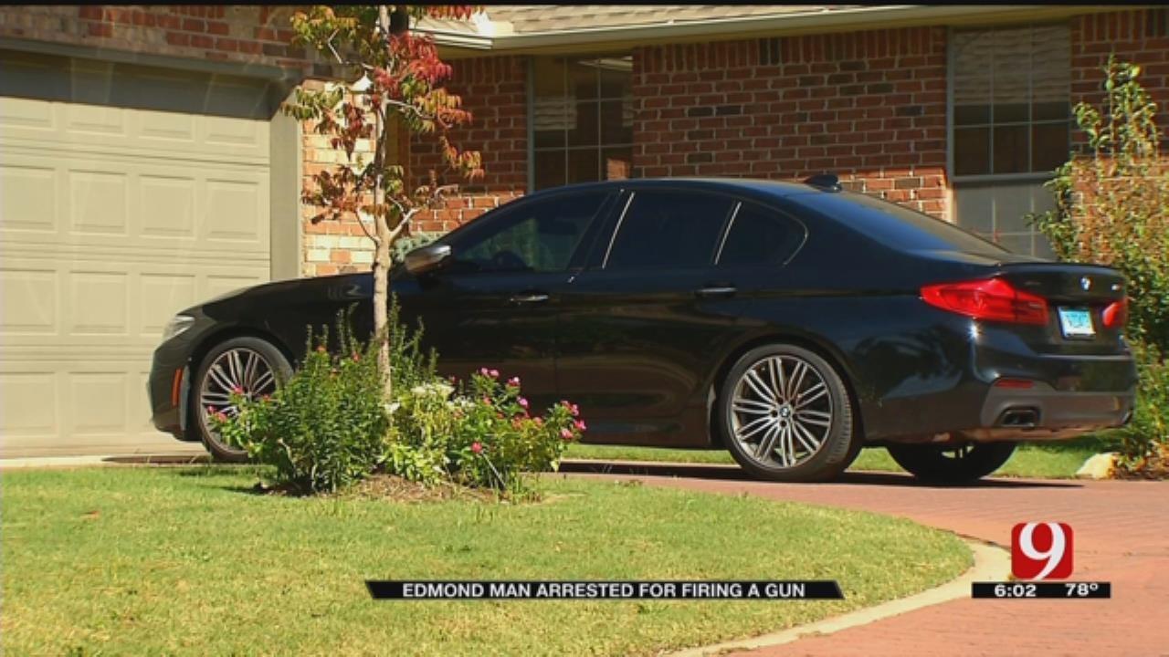 Edmond Man Arrested For Firing Shots In Neighborhood