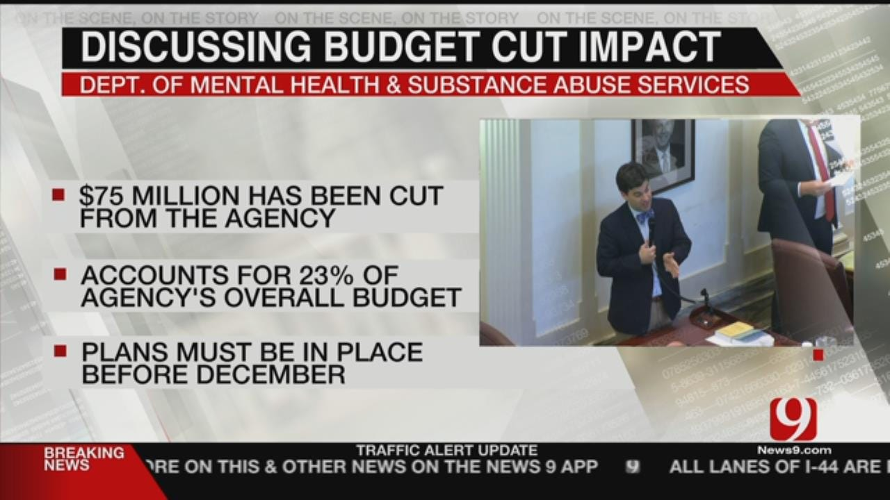 Mental Health, Substance Abuse Services In Oklahoma Face Budget Cuts