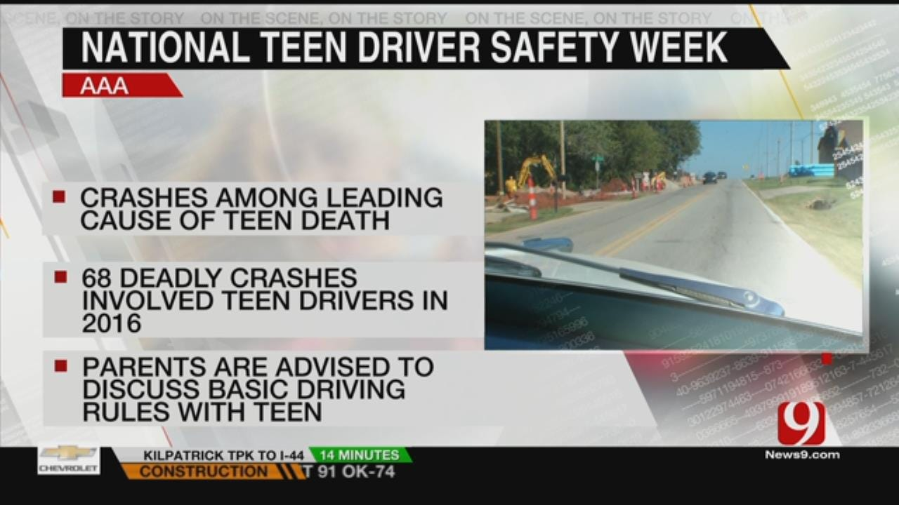 Parents Encouraged To Talk To Teenagers About Road Safety
