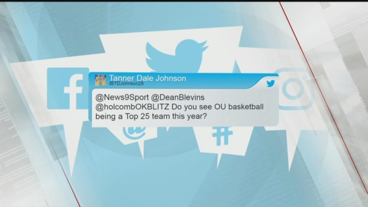 Question From A Viewer: OU's Basketball