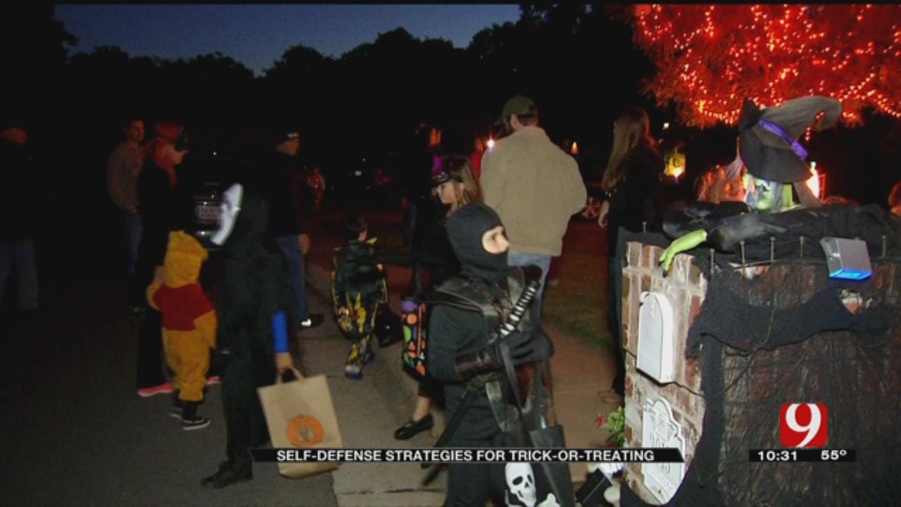 Self-Defense Plan May Protect Trick-Or-Treaters From Abduction