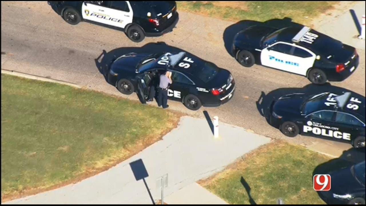 WEB EXTRA: Two Detained After SE OKC Police Chase