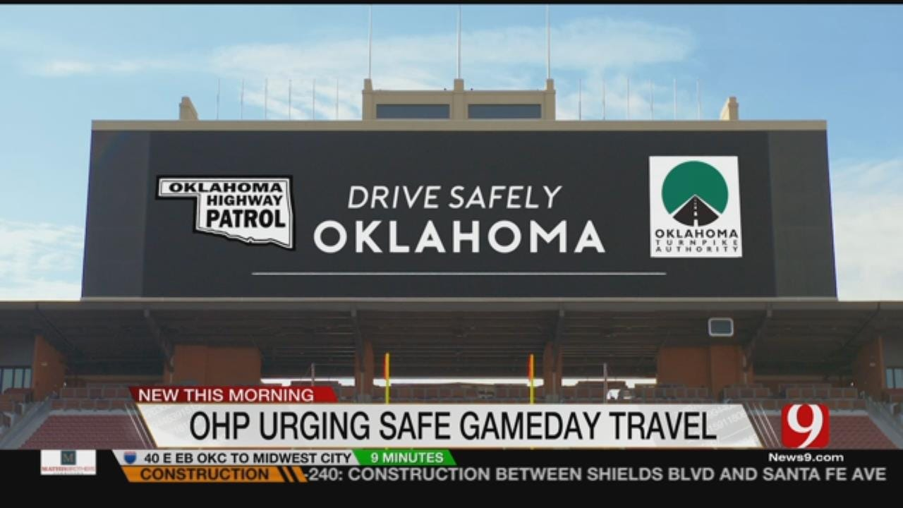 Troopers Ask Sooner Fans To Drive Safely When Traveling To Texas
