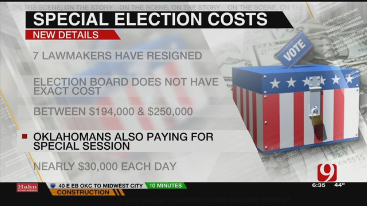 Oklahomans On The Hook For Costly Special Elections, Session