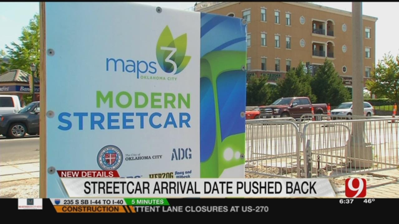 MAPS3 Streetcar Delivery Pushed To November