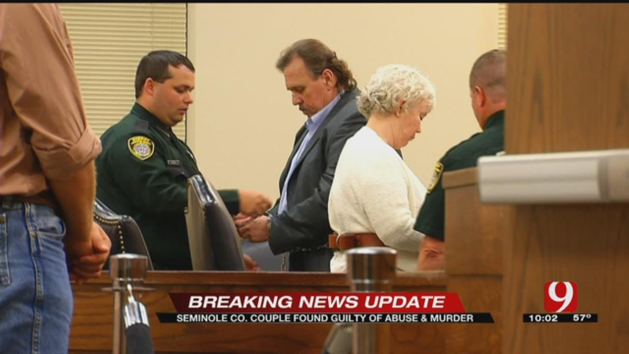 Jury Finds Rex And Rebecca Clark Guilty Of Child Abuse, Murder