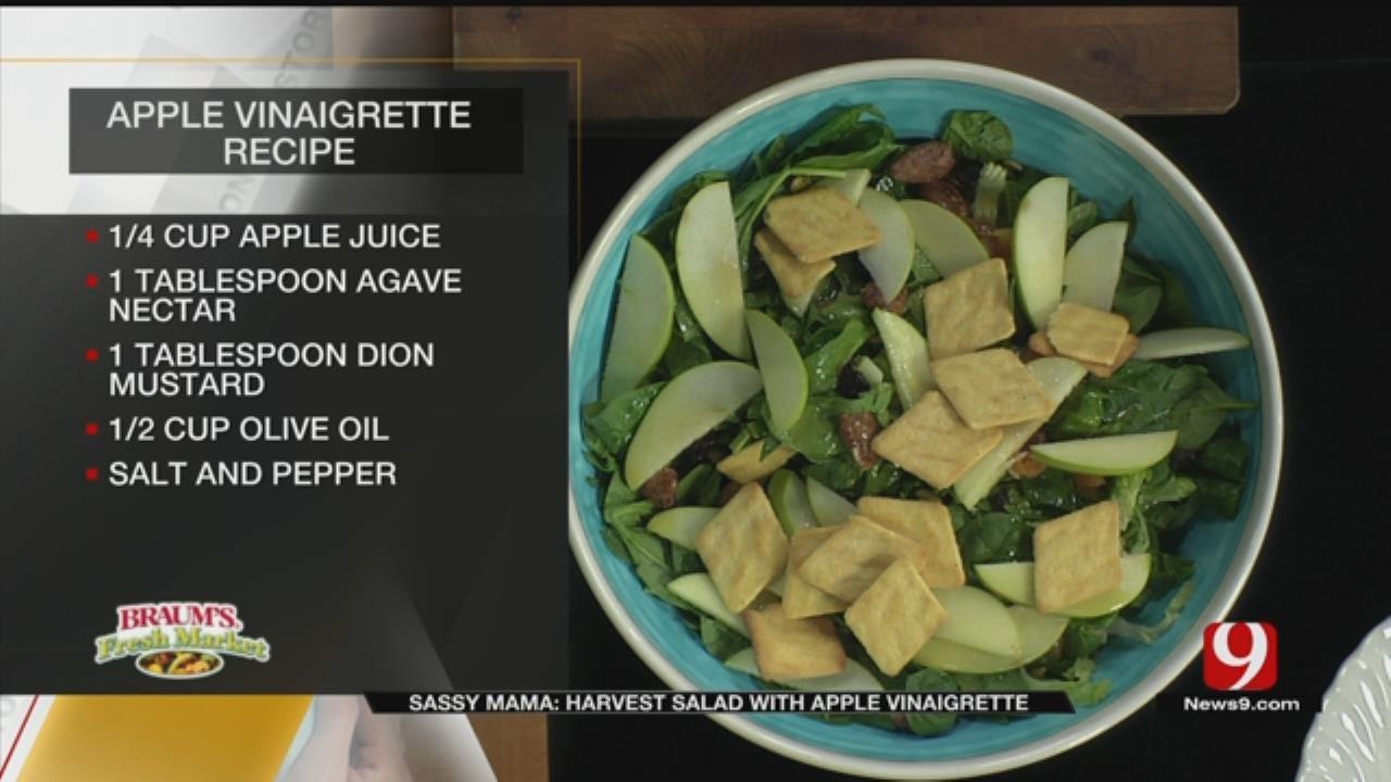 Harvest Salad With Apple Vinaigrette