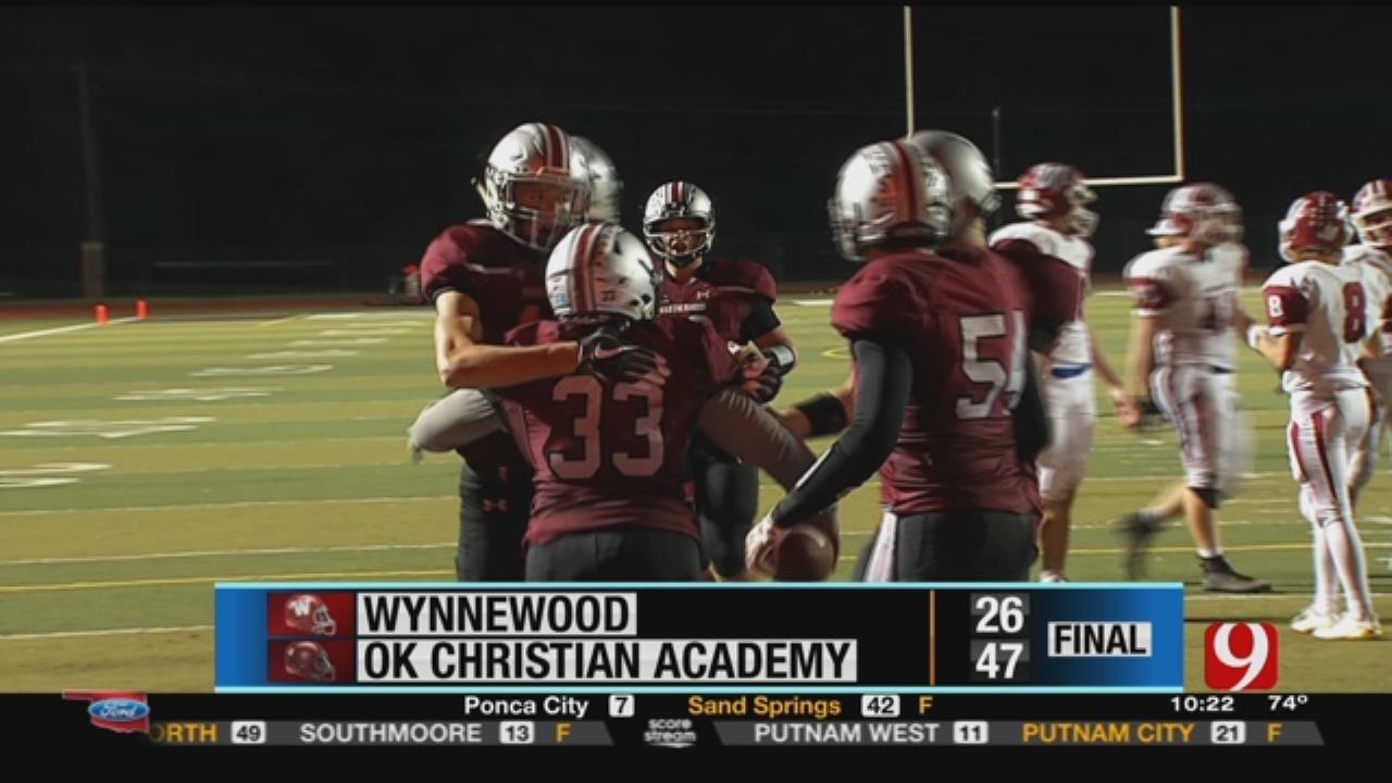Wynnewood 26 at Oklahoma Christian Academy 47
