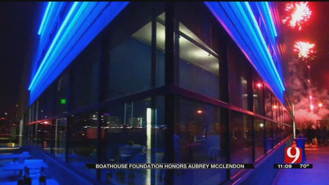 OKC Boathouse District, Community Leaders Honor Aubrey McClendon