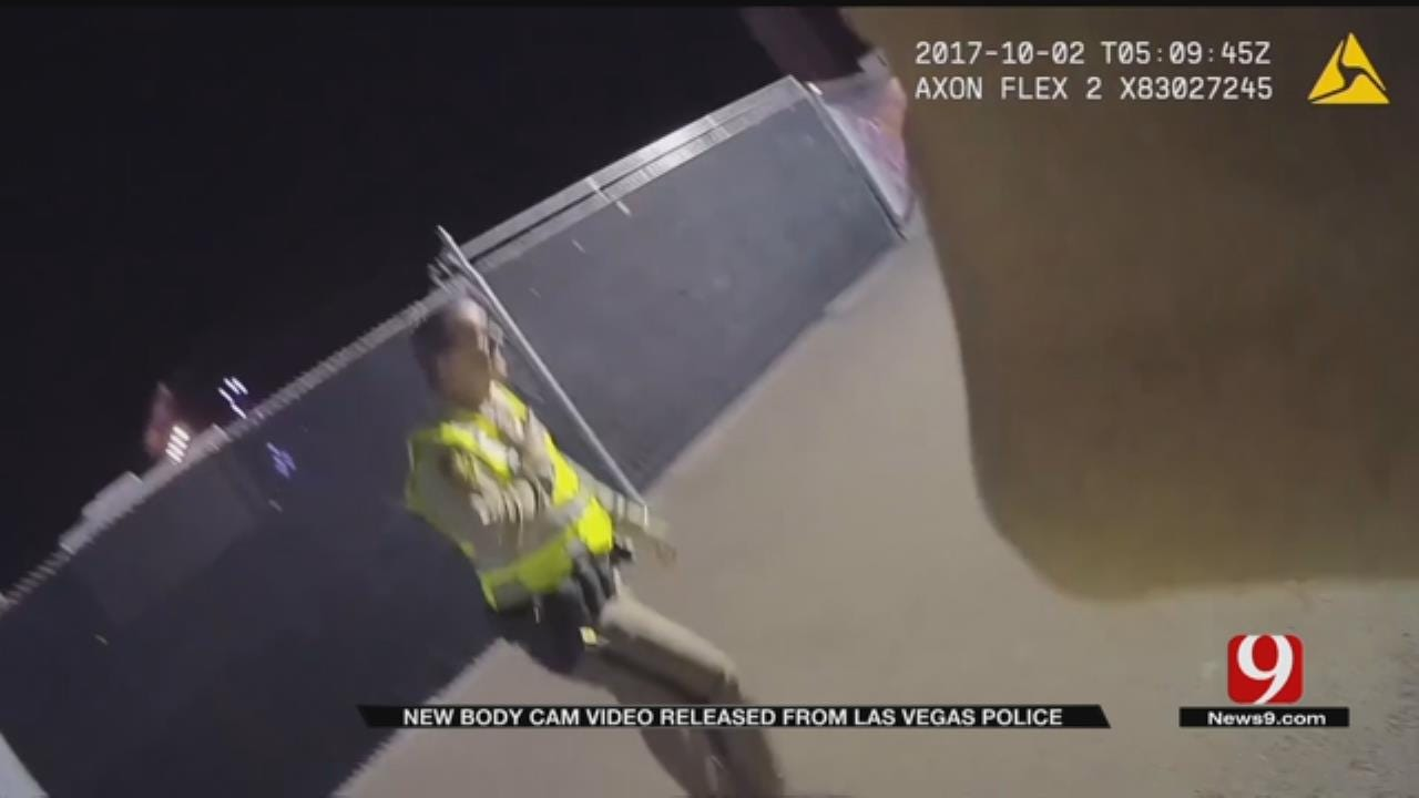 Police Release Body Cam Video In Las Vegas Mass Shooting
