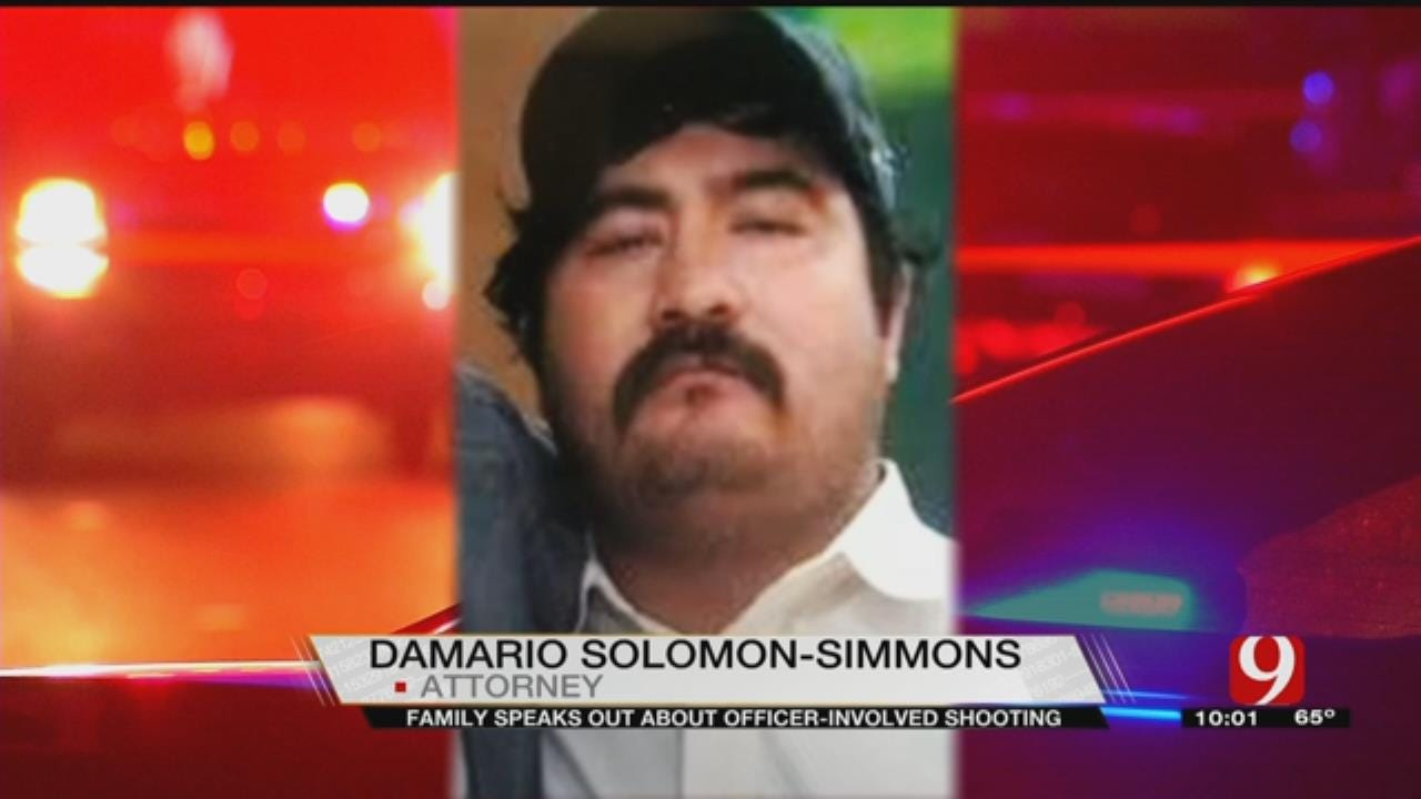 Family Of Man Killed By OKC Officer Calls For Independent Investigation