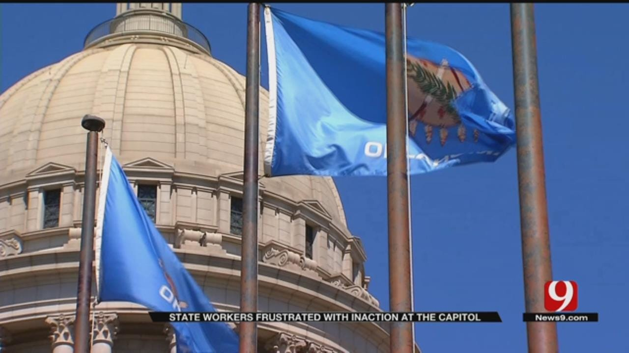 OK Public Employees Ask For Raise, Won't Rule Out Strike
