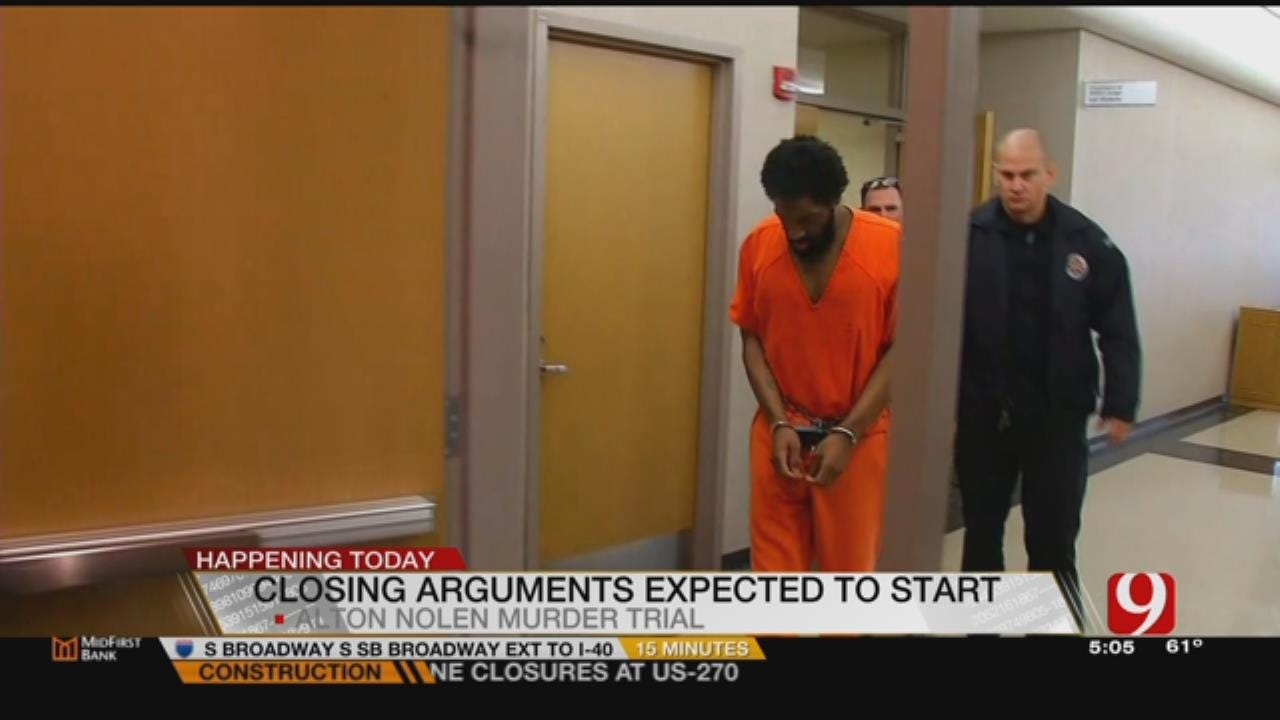 Closing Arguments Expected To Begin Friday In Alton Nolen Trial