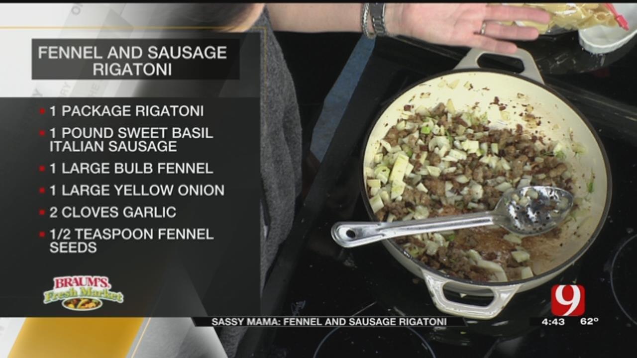 Fennel and Sausage Rigatoni