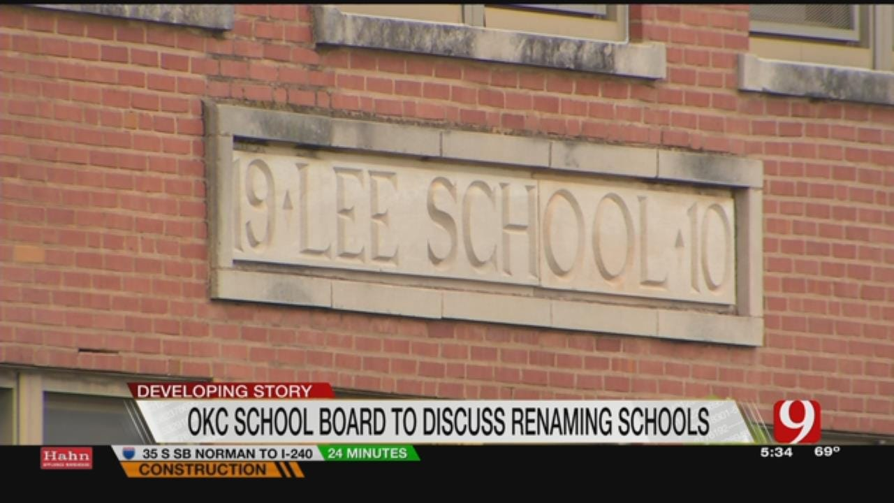 OKCPS To Consider Name Changes For Three Elementary Schools