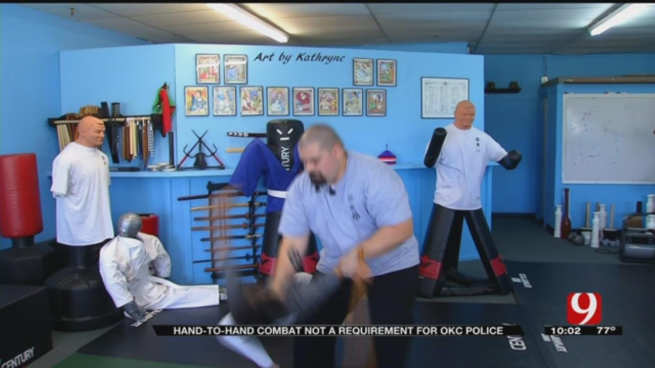 OKC Officers Not Required To Practice Non-Lethal Combat