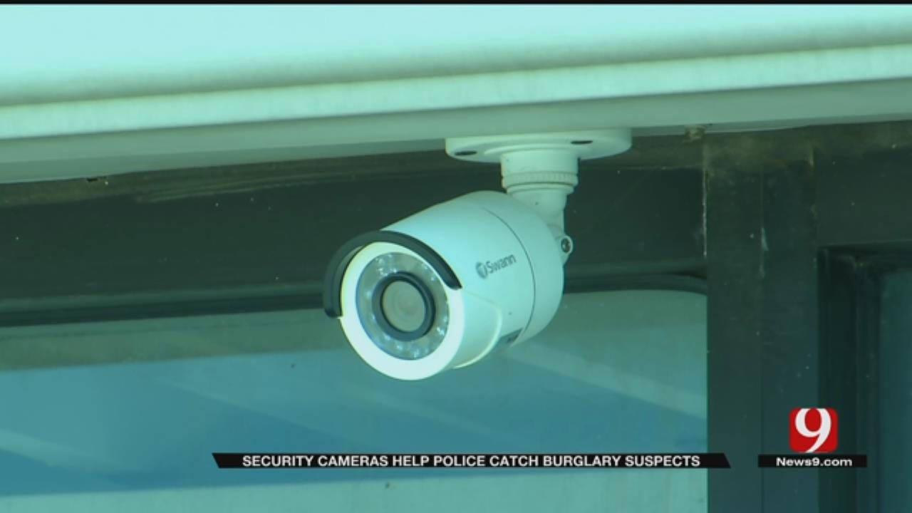 NW OKC Gym Burglars Caught Red-Handed On Surveillance