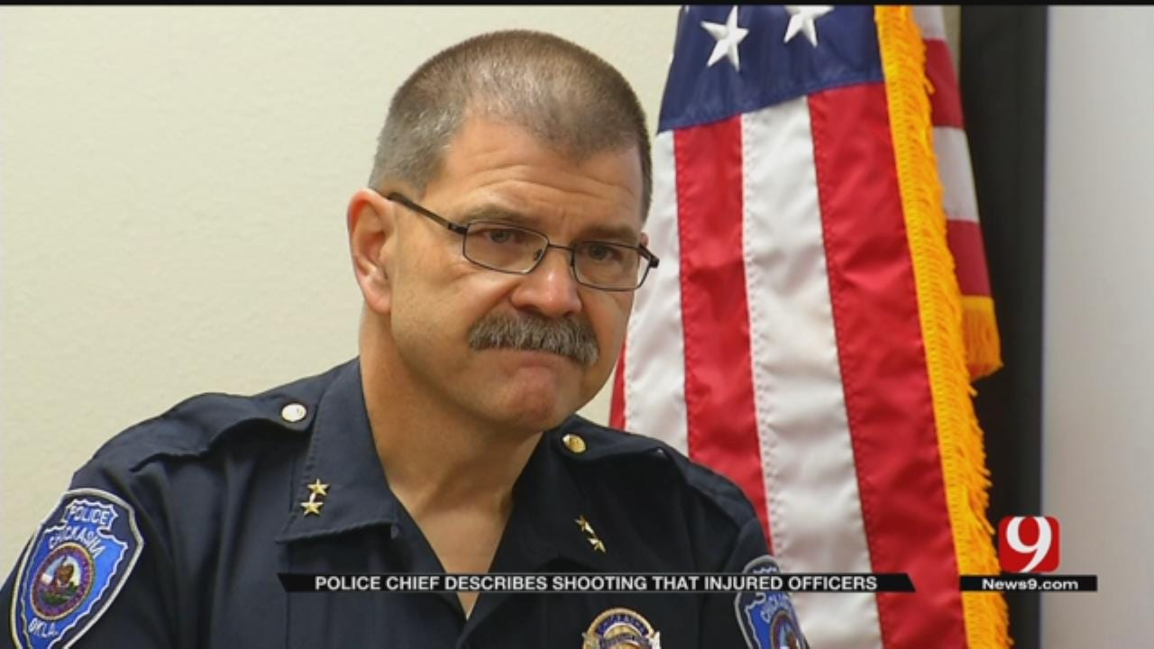 Chickasha Police Chief Describes Shooting That Injured Officers