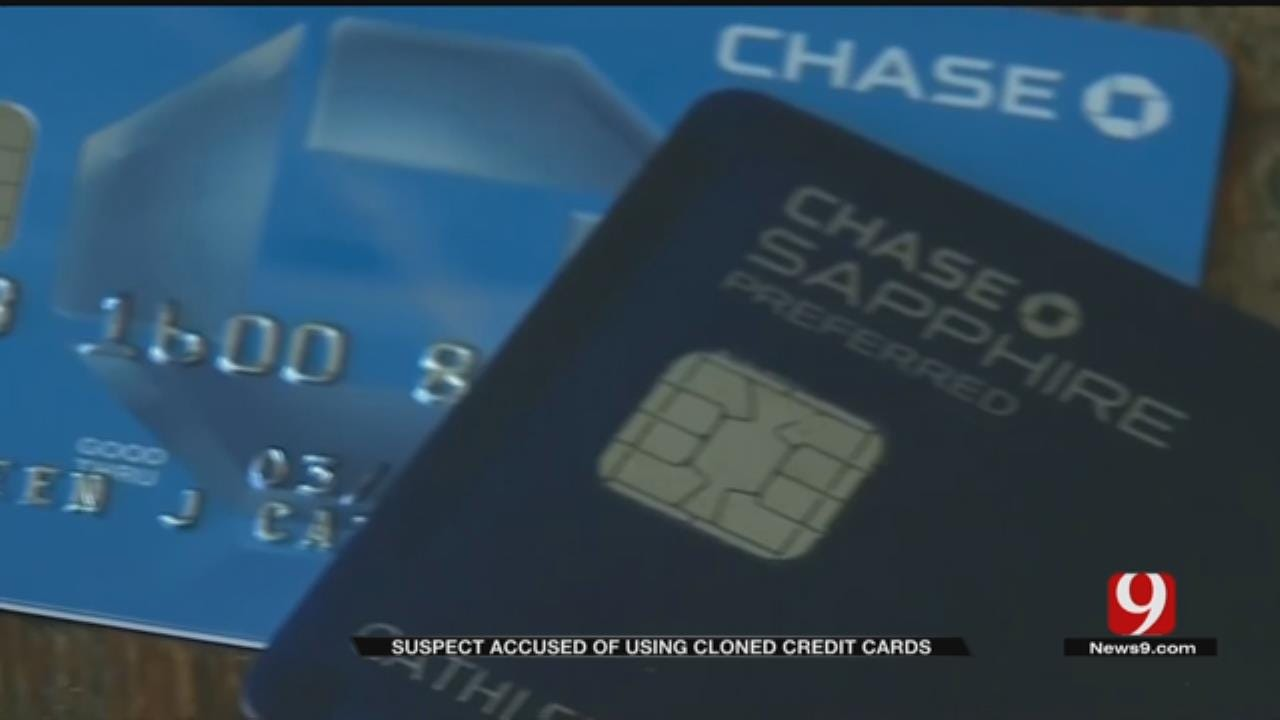 Police Investigate Suspect Using Cloned Credit Cards