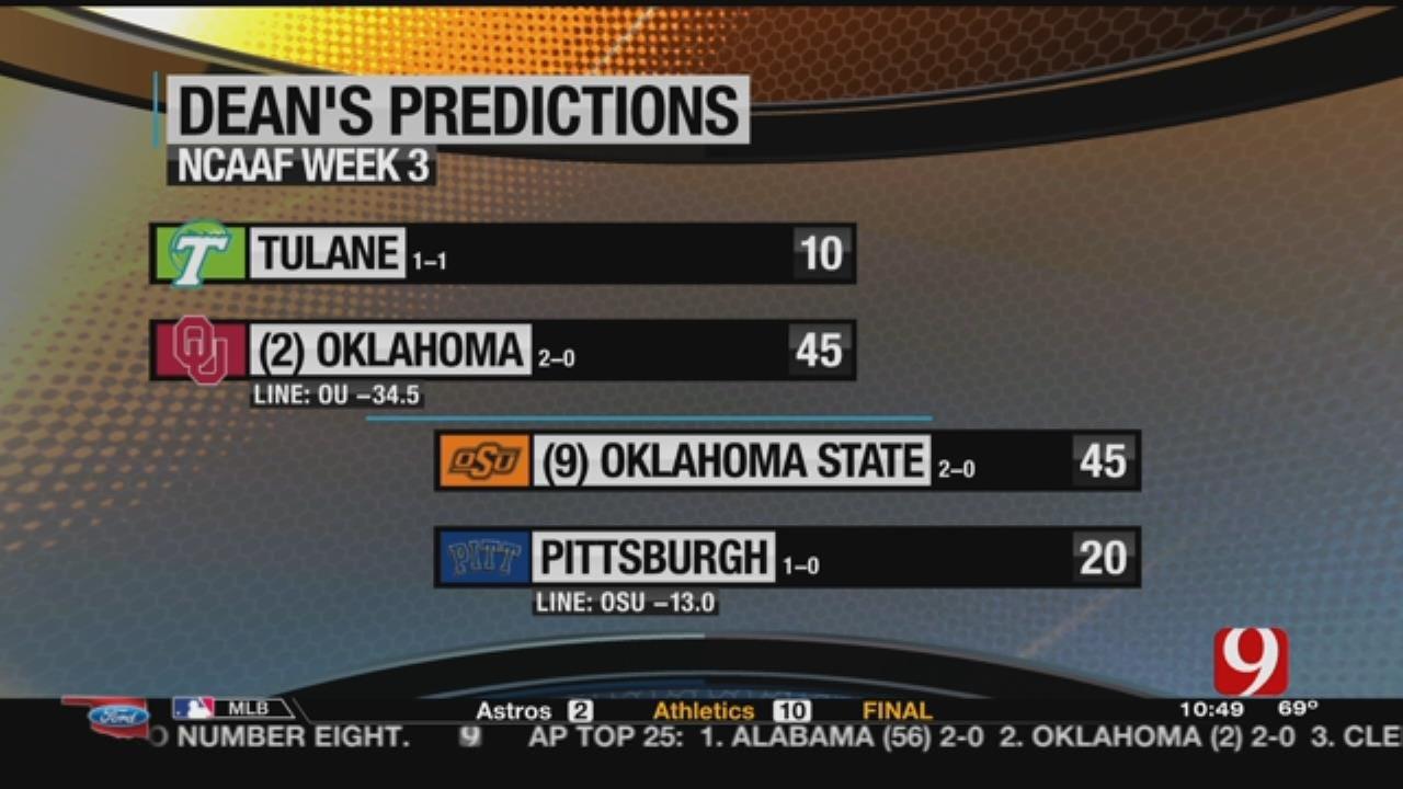 Dean's Predictions