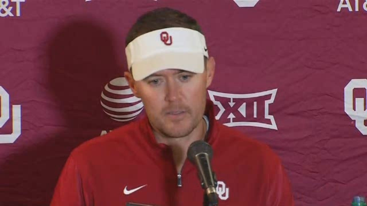Lincoln Riley On OU's Win Over Ohio State