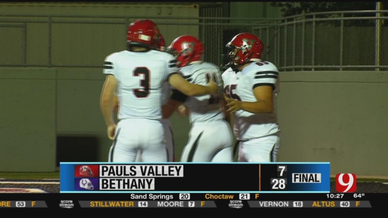 Bethany Dominates Pauls Valley