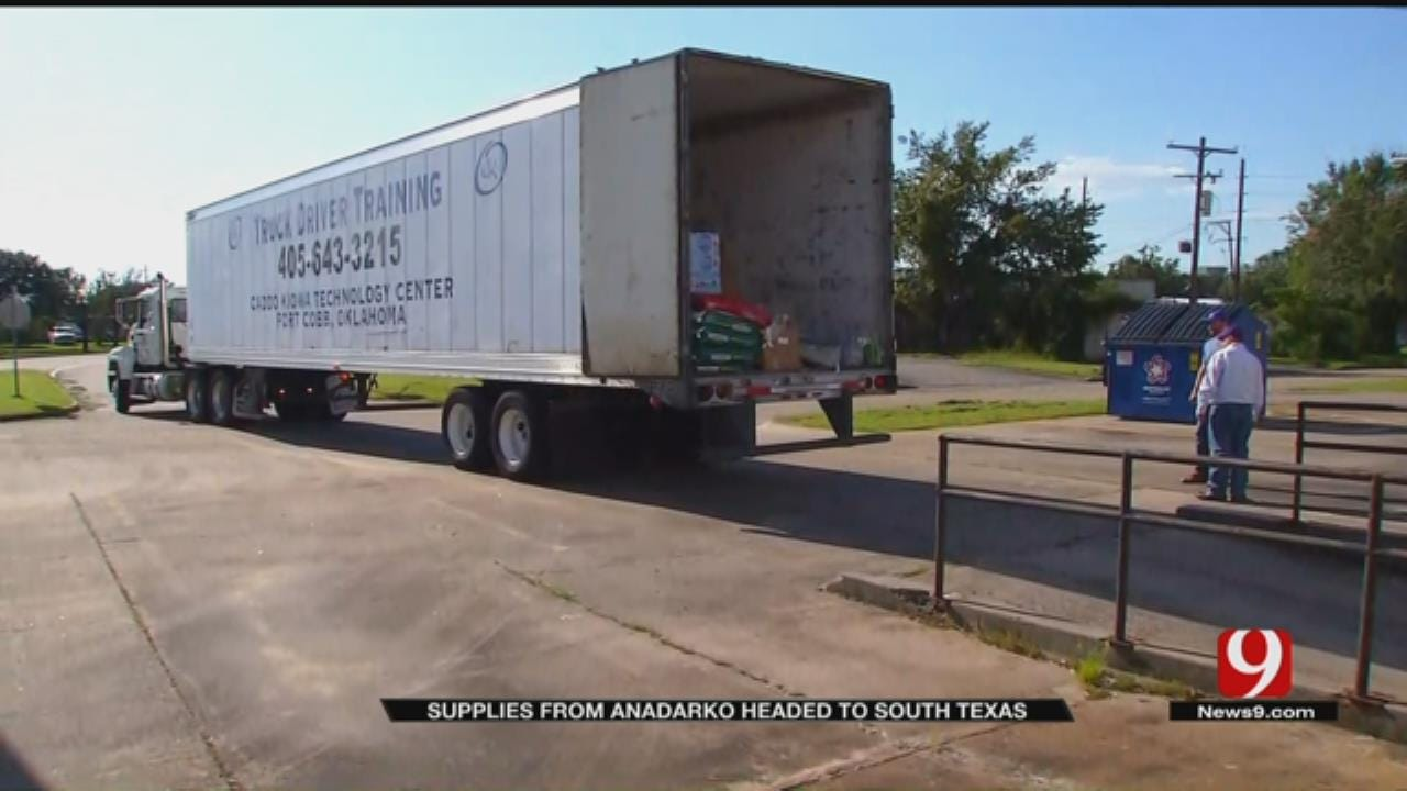 WEB EXTRA: Anadarko Helps Fannett and Beaumont TX Hurricane Victims