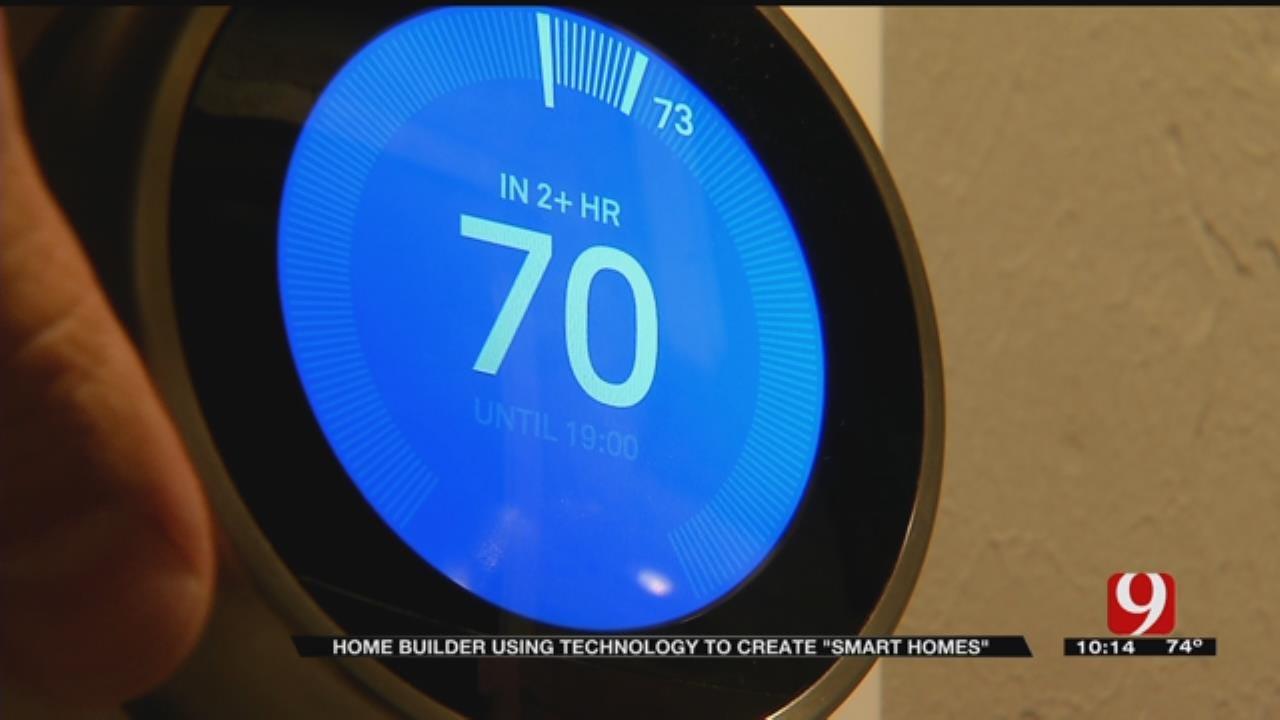 OKC Home Builder Using Technology For Smart Homes