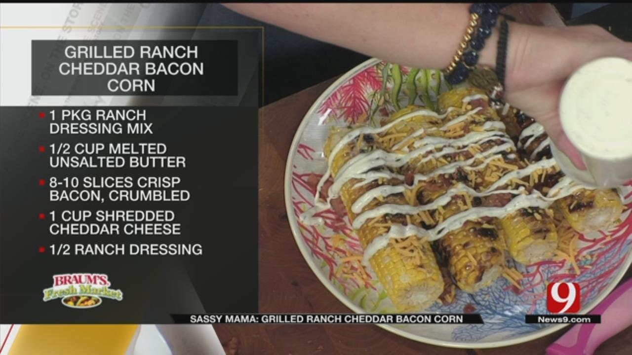 Grilled Ranch Cheddar Bacon Corn