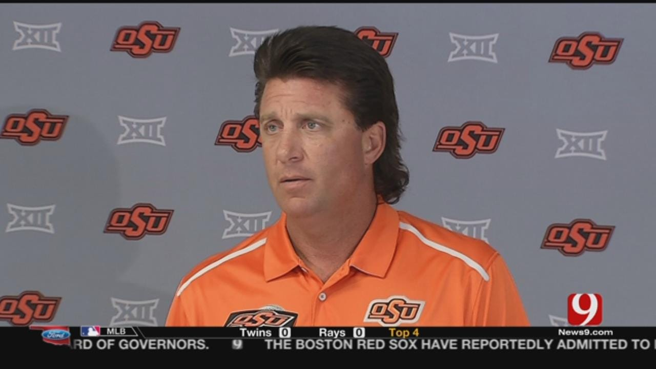 Gundy Seeking Perfection From Rudolph