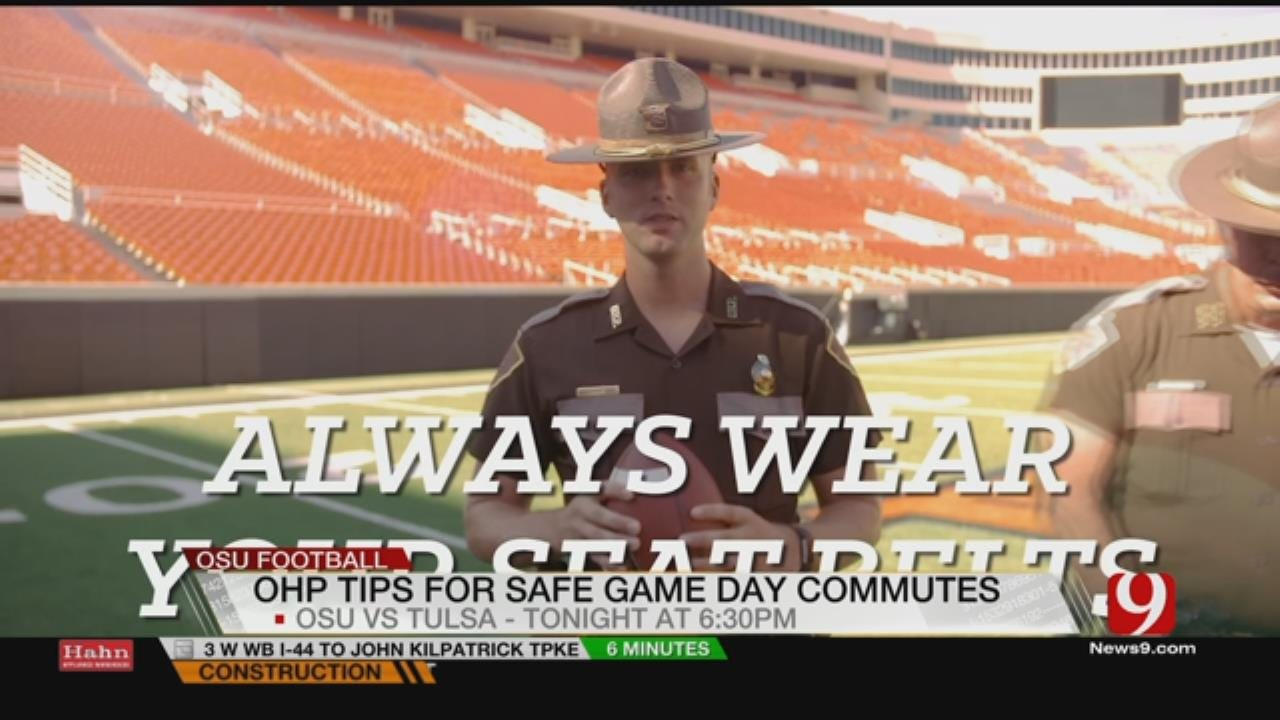 OHP Video Reminds Football Fans To Drive Safely