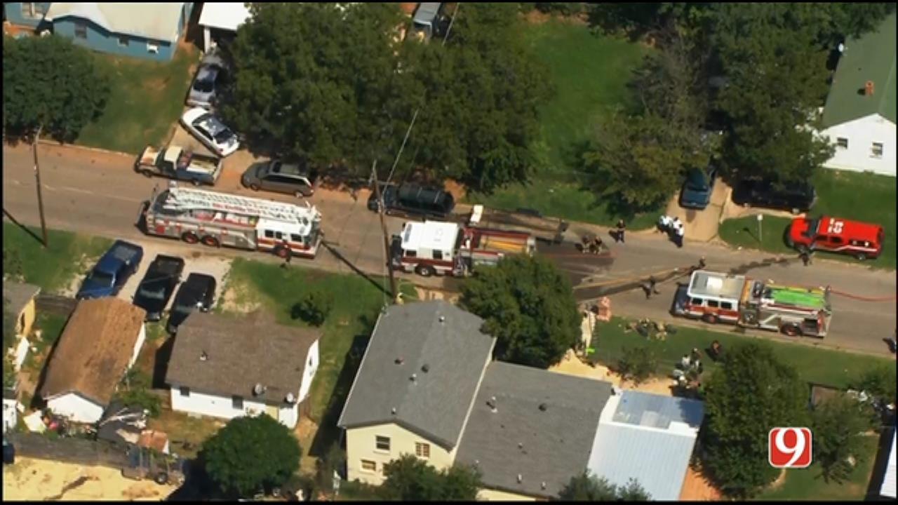 WEB EXTRA: Crews Quickly Put Out SW OKC Fire