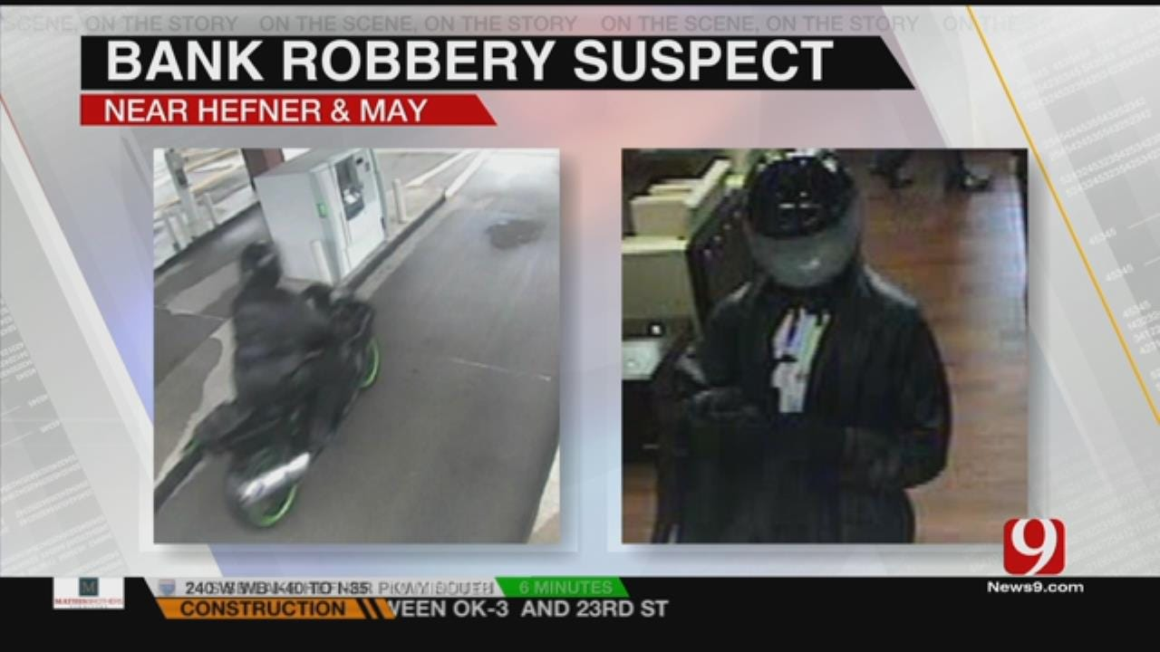 Police Investigating Bank Robbery In NW OKC