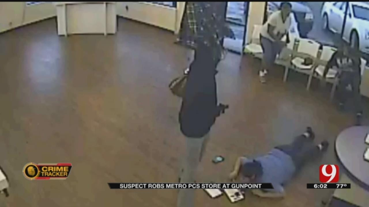 Suspect Robs Metro PCS Store At Gunpoint