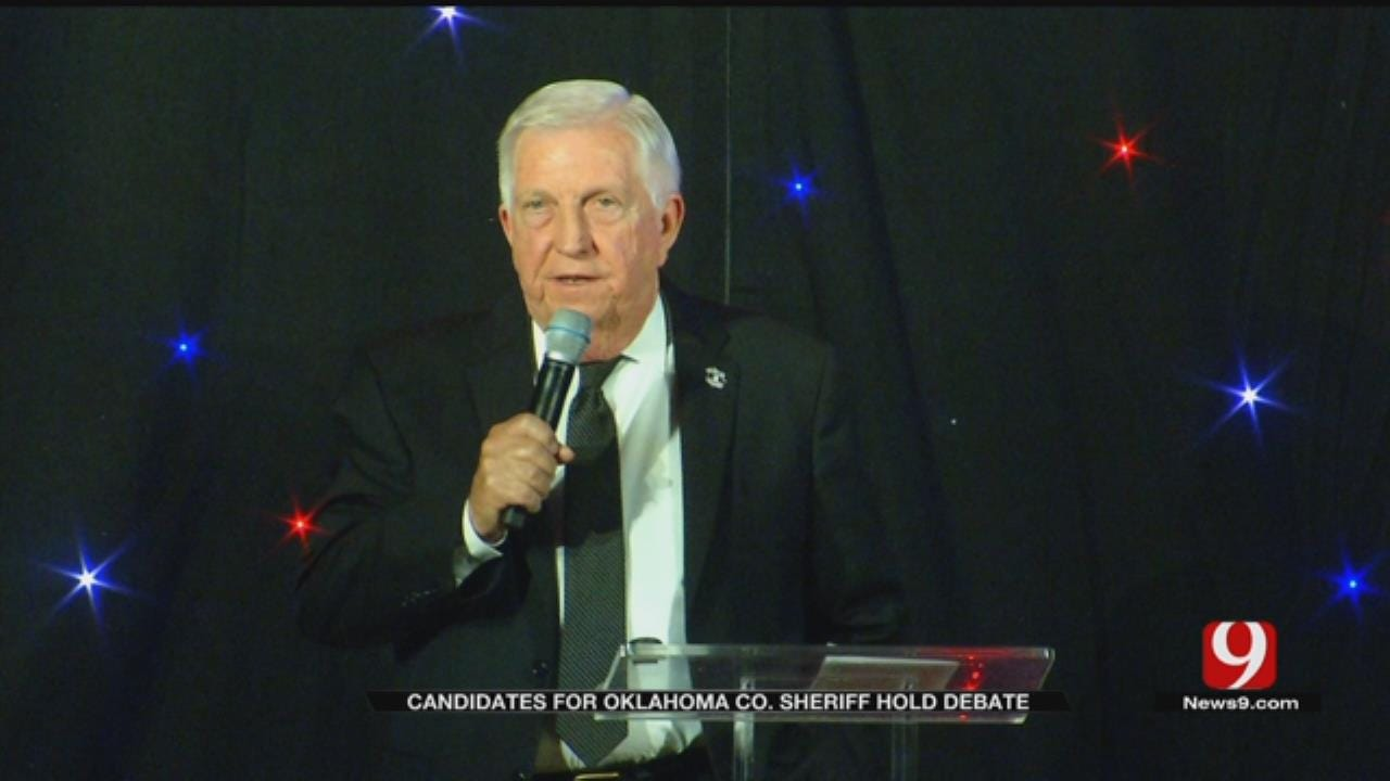 Candidates For Oklahoma County Sheriff Hold Debate