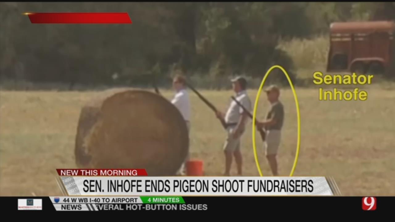Inhofe Ends Pigeon Shoot, Animal Rights Group Celebrates