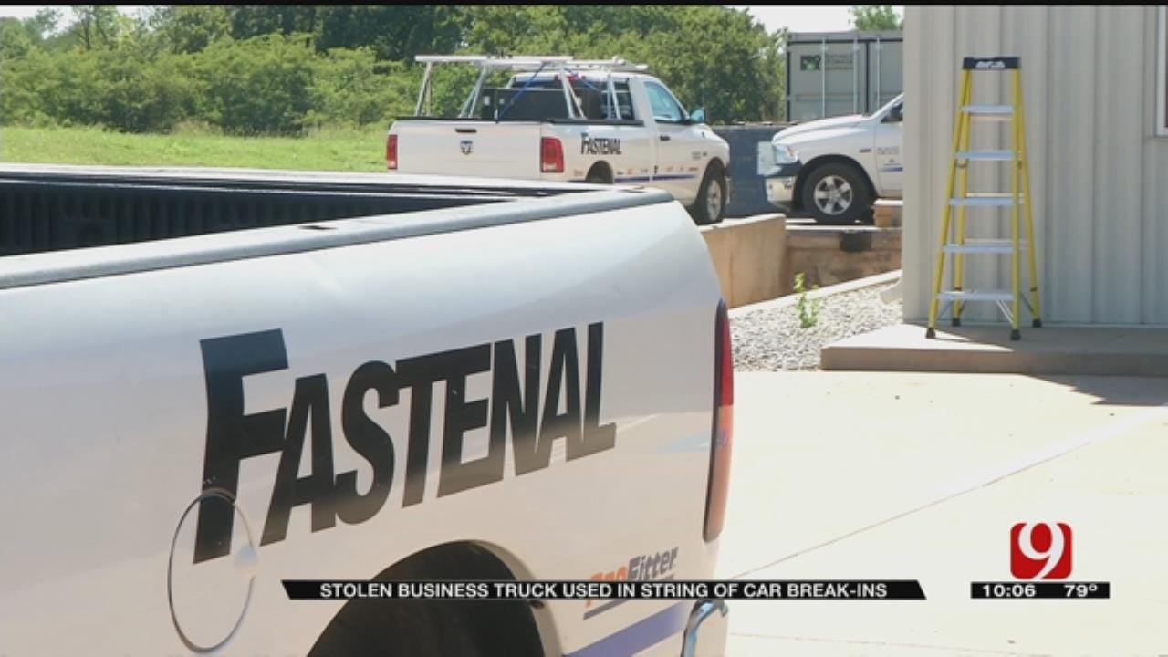 Stolen Business Pickup Reportedly Used In Metro Car Burglaries