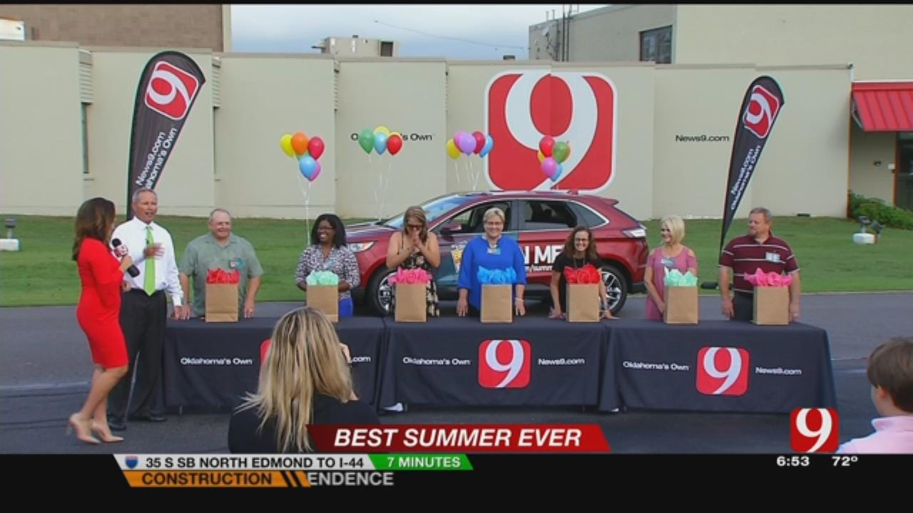 """Best Summer Ever"" Ford Edge Giveaway"