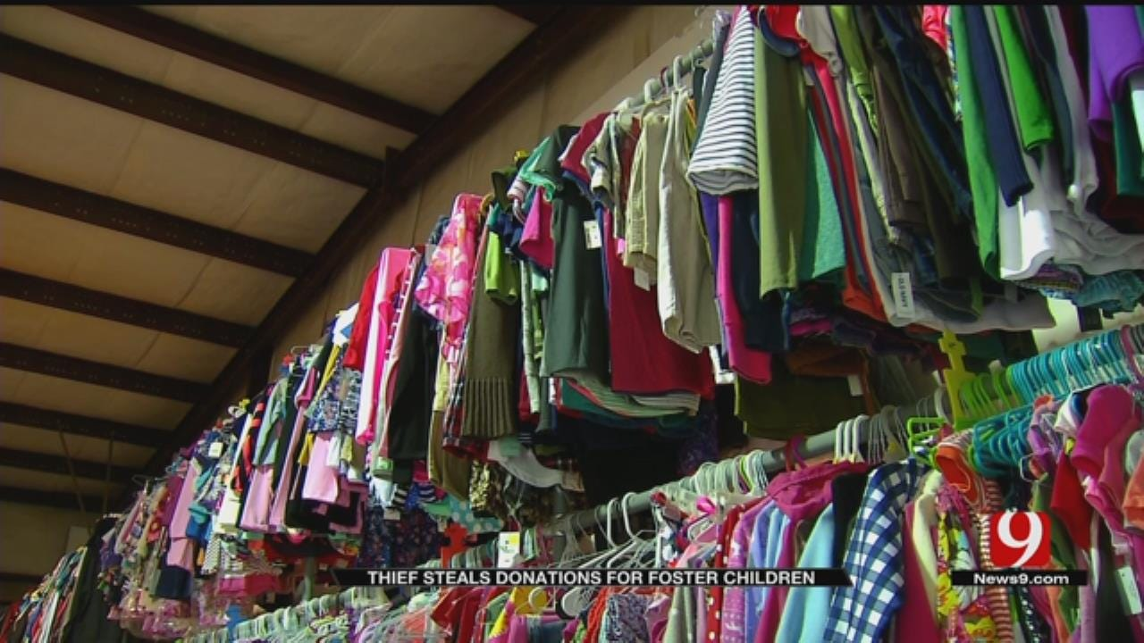 Burglar Steals $4,000 Worth Of Donations For Oklahoma Foster Children