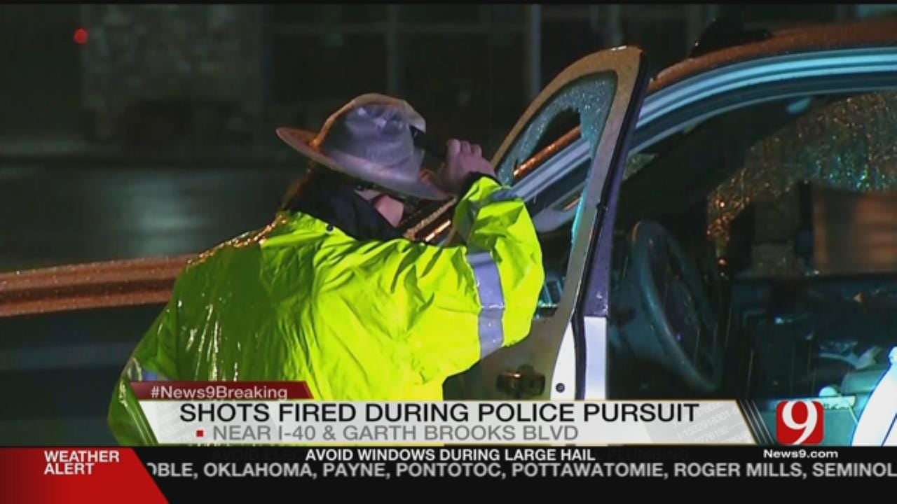 Yukon PD Investigate After Officer Fires Shots At Chase Suspect