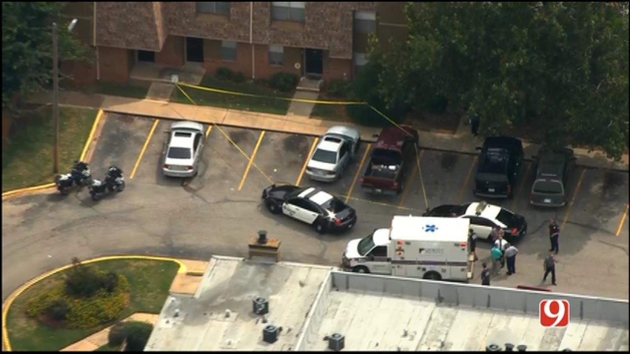 WEB EXTRA: SkyNews 9 Flies Over Domestic Shooting In MWC