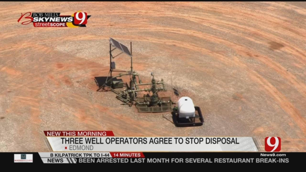 OGCD Announces Further Reduction In Edmond Disposal Well Volumes