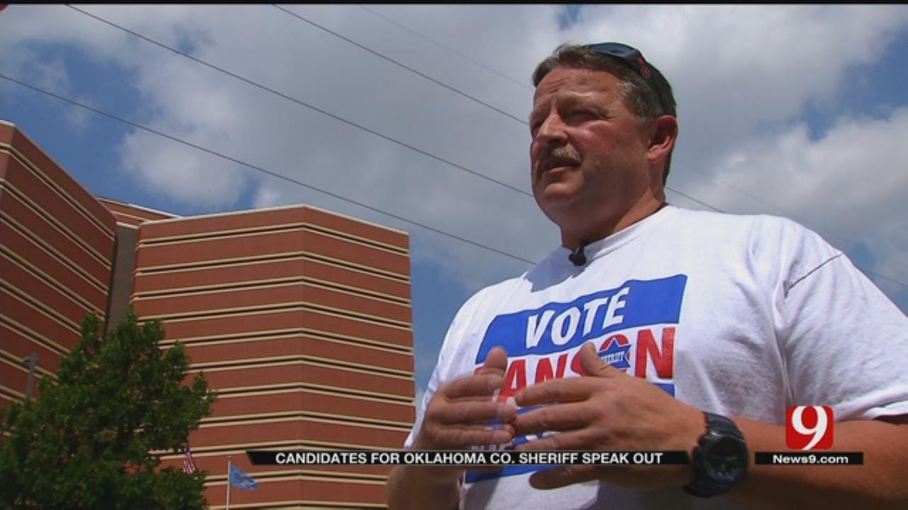 OK County Sheriff Candidate Says He's Facing Retribution