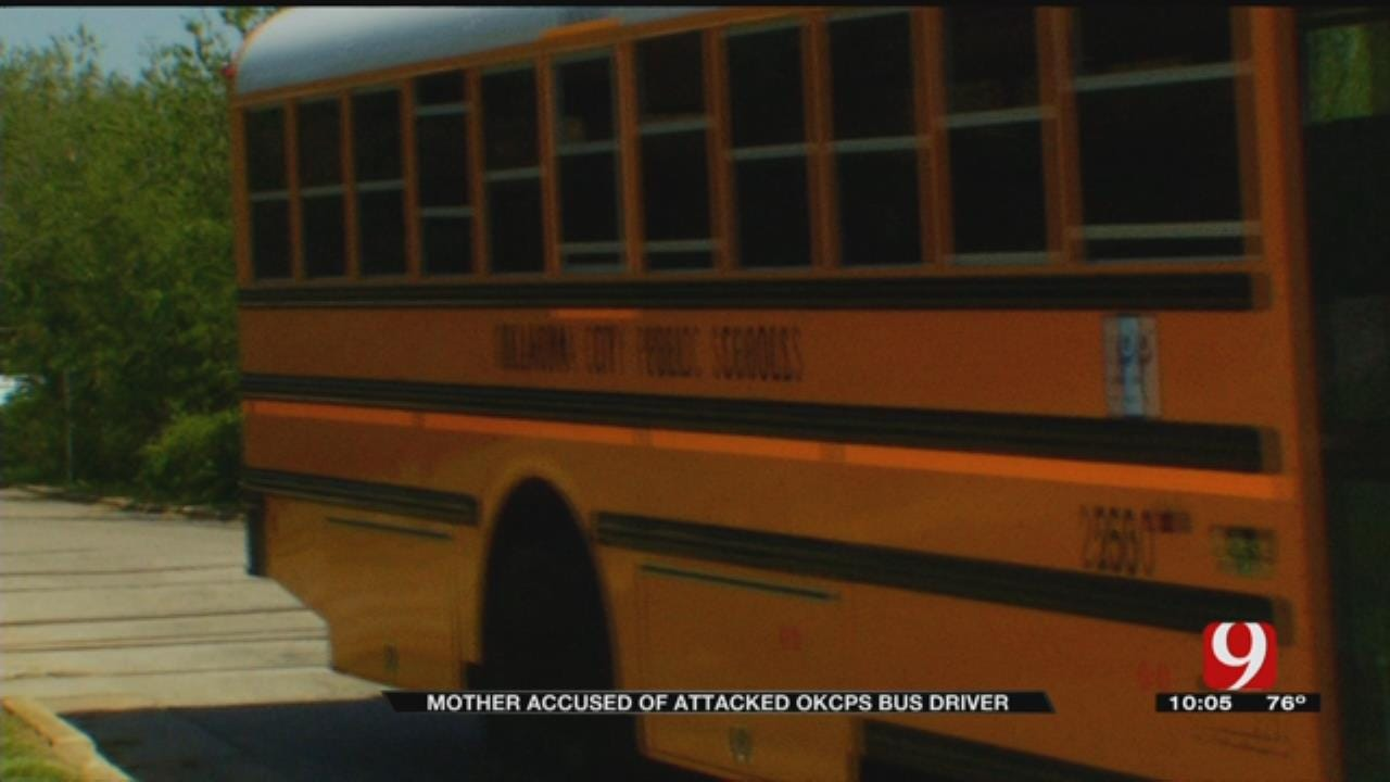 Mother Accused Of Attacking OKCPS Bus Driver