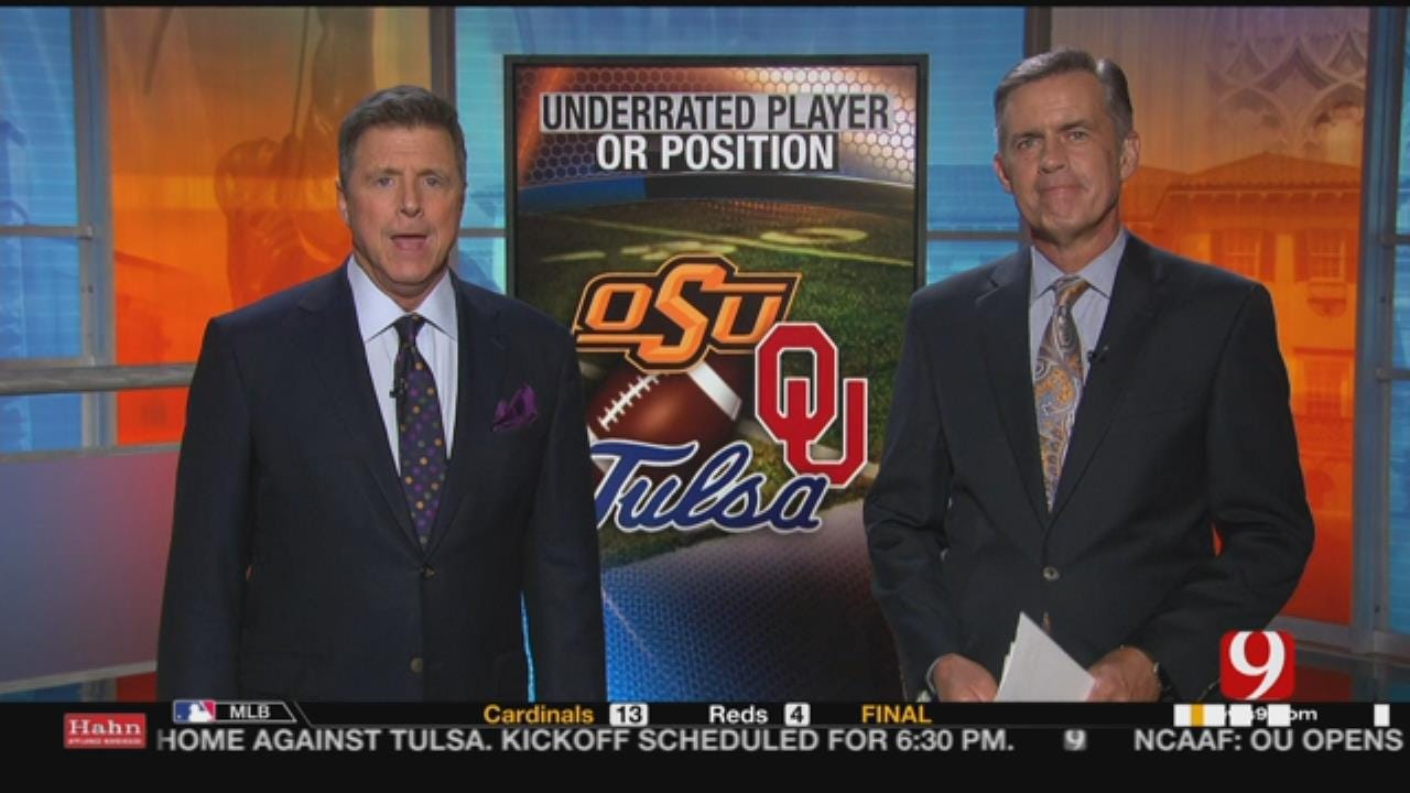 Most Underrated Player From OSU,OU,Tulsa
