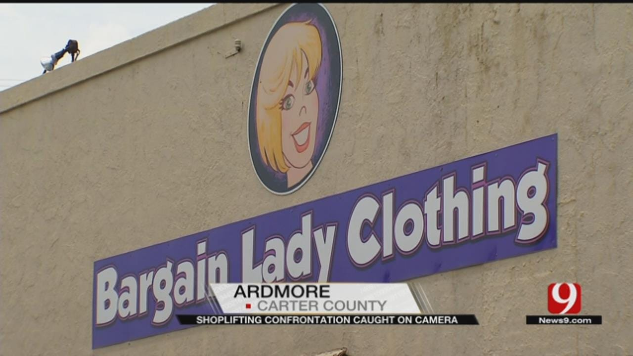 Ardmore Shoplifting Confrontation Caught On Camera