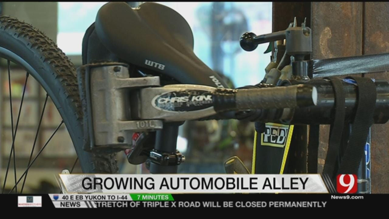 Growth Isn't Slowing In Automobile Alley