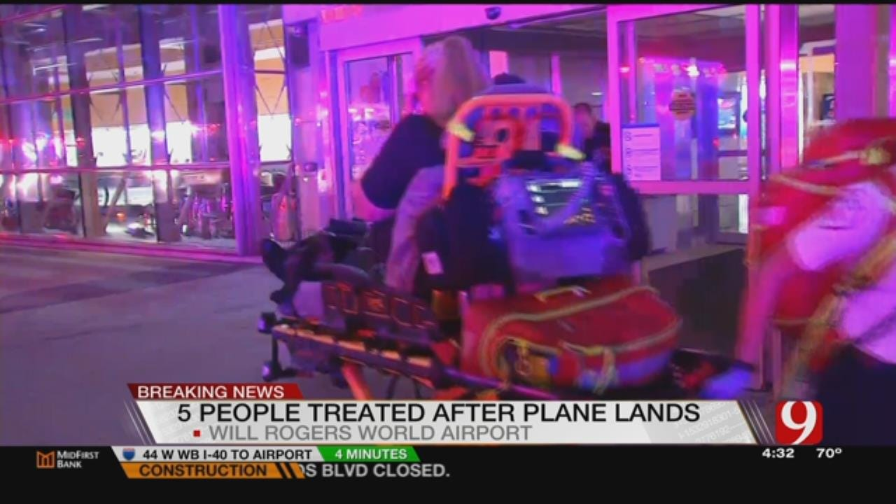 Unknown Odor From Inbound Plane Causes Breathing Problems At WRWA