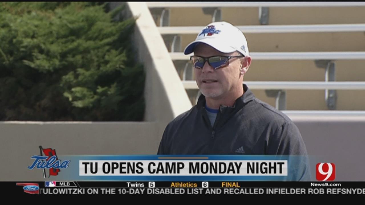 Tulsa Opens Practice On Monday