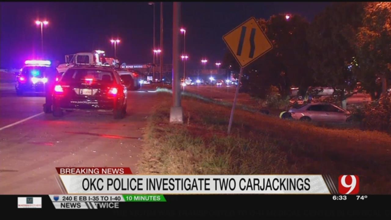 OKCPD Arrest Two In Carjackings